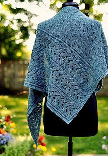 Ravelry: Richland pattern by Dee O'Keefe Prayer Shawl Patterns, Lace Patterns, Stitch Patterns, Knitting Patterns, Crochet Patterns, Loom Knitting, Knitting Ideas, Crochet Prayer Shawls, Knitted Shawls