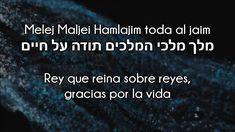 Melej Maljei Hamelajim ~ Rey que reina sobre reyes | Amram Adar ~ עמרם א...