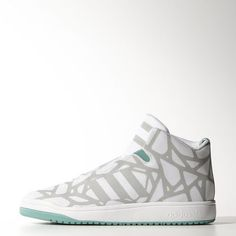 7a5d14196 adidas - Veritas Mid Shoes Black And White Sneakers