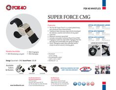 Fox 40 Super Force CMG #Fox40Whistle #Fox40Sport #Fox40Hockey http://www.fox40shop.com/s.nl/sc.7/category.18060/.f