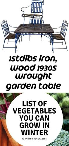 Most recent No Cost raised Garden Table Suggestions We pride ourselves on the excellent good name for quality and sturdiness so the backyard furniture h Growing Winter Vegetables, List Of Vegetables, Hardwood Furniture, Teak Furniture, Garden Lamps, Garden Table, Aluminium Garden Furniture, Teak Oil, Backyard Furniture