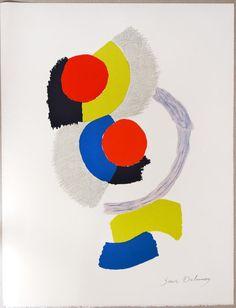 Sonia Delaunay Art gift graphic visual arts by MarieArtCollection #wallart #etsyspecialt #TIntegrityT @EarthRT @EtsyRT