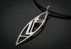Cubism (Leaf) Pendant
