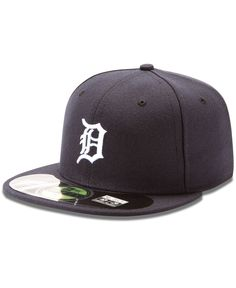 Straightforward New Era 59fifty Cap Mlb Detroit Tigers Boys Kids Youth Size Navy Blue 5950 Hat Strong Packing Kids' Clothing, Shoes & Accs