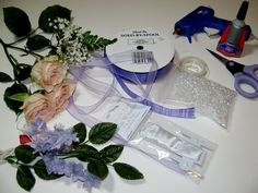 Corsage tutorial (good one!) Using real flowers and metal part from joann