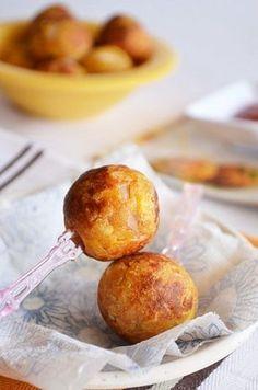 Golose polpettine di pane e patate