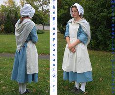 The Blue Peasant Girl by Marie-Ange-the-Celt.deviantart.com on @DeviantArt