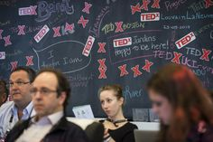 The view from the TEDx Action Lab, another popular viewing lounge.
