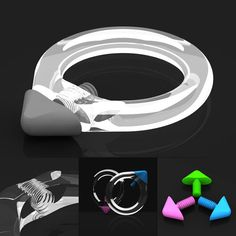 skleněný šperk - TIGHTENER