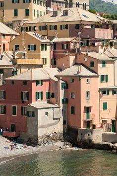 Boccadasse is an old mariners' neighbourhood of the Italian city of Genoa.