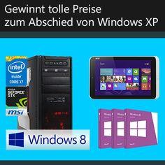 In wenigen Tagen endet der Support für Windows XP endgültig. Wir machen euch fit für den Umstieg auf eine moderne Windows-Version und verabschieden uns mit einem tollen Gewinnspiel von Windows XP.