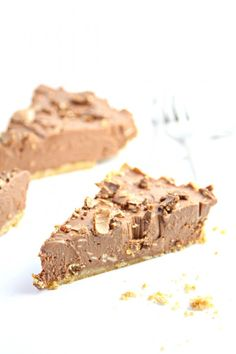 No Bake Nutella Cheesecake from @bellalimento