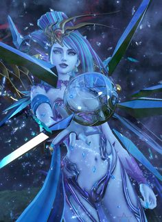The new style of Shiva in Dissidia