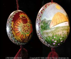 Ukrainian Easter Egg Pysanky UA10070  by Iryna Vakh  from the Lviv  on AllThingsUkrainian.com