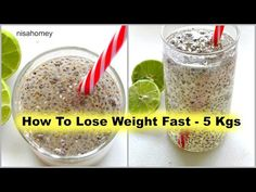 How to lose weight fast - lose 5 kg in a month with this powerful morning home remedy. Quick weight loss with chia seeds and lemon drink. Chia seeds to lose weight Drink that burns Turmeric Smoothie, Turmeric Milk, Fat Burning Drinks, Fat Burning Foods, Fat Cutter Drink, Chia Benefits, Lose 50 Pounds, 5 Pounds, Lemon Drink