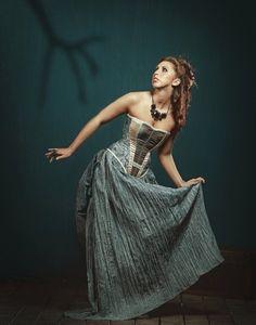 Alice in Wonderland - Alices Dress. $425.00, via Etsy. (My dress!)