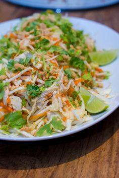 Goi Ga – vietnamesischer Krautsalat mit Hühnchen