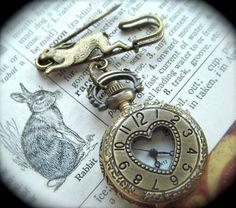 Run Rabbit Watch Pin