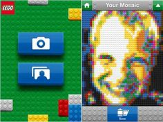Transform your photo in a Lego mosaic