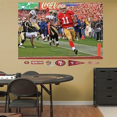Alex Smith Playoff Rush � In Your Face Mural