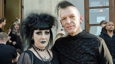 gothic beauty The 26th Wave-Gotik-Treffen, 2017 One of the oldest and largest gatherings in the goth-industrial scene, Wave-Gotik-Treffen has taken place in Leipzig, Germany every Whitsun weekend fo... jenly