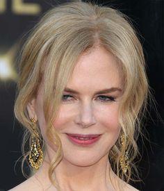 Nicole Kidman Updo Long Curly Hairstyles