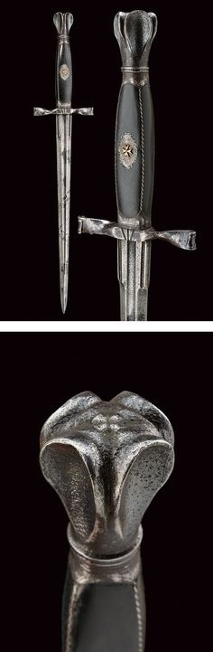 A dagger with the Maltese cross,dating: 17th Century provenance: Europe.