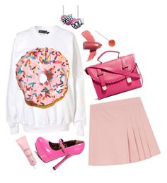 """""""Untitled #2661"""" by patpotato ❤ liked on Polyvore featuring Ashish, Elizabeth Arden and ASOS"""