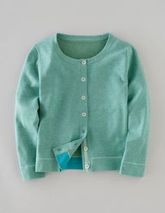 Boden [SS 2011 Favourite Cropped Cardigan in Mint Melange WK 617]