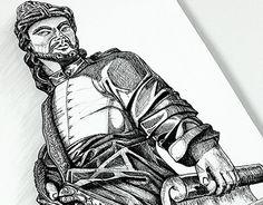 """Check out new work on my @Behance portfolio: """"Profeta: desenho com caneta esferográfica e nanquim"""" http://be.net/gallery/54261643/Profeta-desenho-com-caneta-esferografica-e-nanquim"""