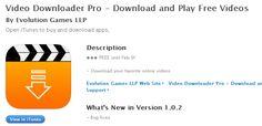 videro pro app Whats New, Itunes, Evolution, App, Videos, Blog, Free, Apps, Blogging
