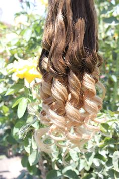 """Eight Medium Brown Ombre Hair Extensions, 20-22"""" Human Hair Extensions, Brazilian ombre virgin Hair…"""