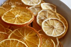 How to dry citrus fruits for festive decorations - simple step by step guide so that you avoid them going moldy