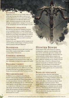 15 Best D&D 5e Homebrew Classes images in 2017 | Dnd 5e homebrew
