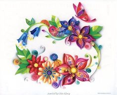 Image result for balloons quilling