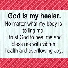 God is my healer Amen! Bible Quotes, Bible Verses, Angel Quotes, Prayer Verses, Biblical Quotes, Prayer Quotes, Quotes Quotes, Qoutes, Healing Scriptures