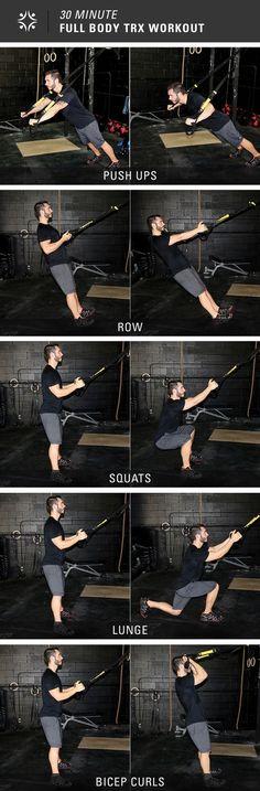 30 minutes, 5 exercises = Full body workout
