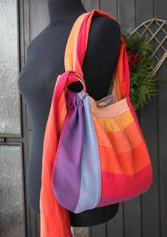 Girasol Earthy Rainbow Slingyroo Woven Wrap Bag