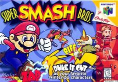 Shop for Super Smash Bros. and other retro classics on the Nintendo greatest hits and retro rarities for Nintendo, Sega, Playstation and more! Super Smash Bros Nintendo 64, Super Smash Bros Characters, Nintendo 64 Games, Nintendo Characters, Super Mario Bros, Nintendo N64, Arcade Games, Nintendo Switch, Playstation