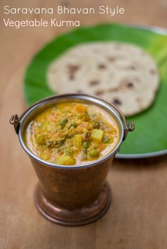 Hotel-Saravana-Bhavan-Chapati-Parotta-Vegetable-Kurma-Recipe