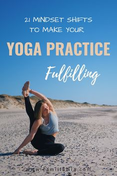 The mindset shifts you need to find fulfillment, joy, and empowerment in your home yoga practice and avoid feeling the should dos and the pressure. Anxiety Relief, Pain Relief, Yoga For Knees, Yoga Inversions, Home Yoga Practice, Yoga Philosophy, Yoga Props, Advanced Yoga, Yoga For Flexibility