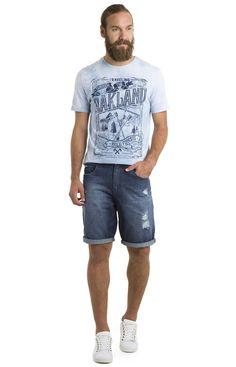 Bermuda comfort jeans