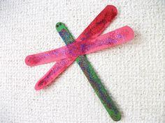 Preschool Summer Craft Projects | Preschool Crafts for Kids*: Easy Dragonfly Bug Craft