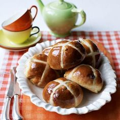 Bread ~ Hot Cross Buns on Pinterest by taz1958 | Hot Cross Bun ...