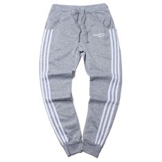 15.99$  Watch now - http://diuf1.justgood.pw/go.php?t=200241504 - Sportive Three Stripes Drawstring Waist Jogger Pants