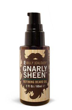 Billy Jealousy Gnarly Sheen Refining Beard Oil