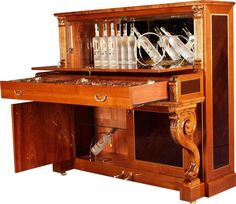 """A true, authentic piano bar. :)  """"This was originally an upright piano,"""" according to Cunningham Piano."""