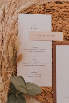 simlistic wedding on the day menu Boho Inspiration, Wedding Inspiration, Wedding Ideas, Forest Wedding, Rustic Wedding, Modern Wedding Stationery, Wedding Soup, Nordic Christmas, Bar Signs