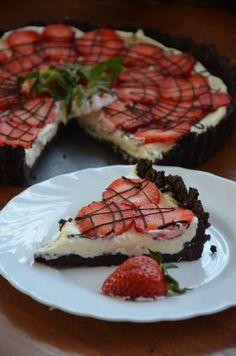 Tarta z malinami | Moje Wypieki Pie, Food, Torte, Cake, Fruit Cakes, Essen, Pies, Meals, Yemek