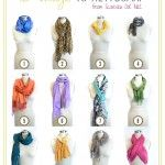 12 *More* Ways to Tie a Scarf
